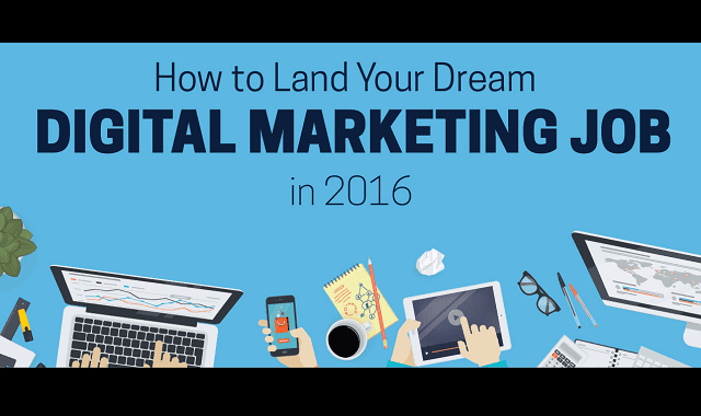How to Land your Dream Digital Marketing Job in 2016?
