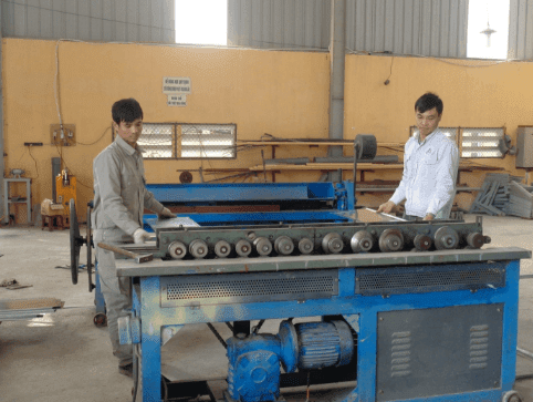 Quy trình sản xuất ống gió TPP5