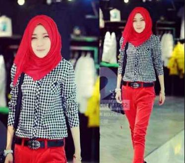 Fashion Hijab Terbaru Model Hijab Style Beli Online Di