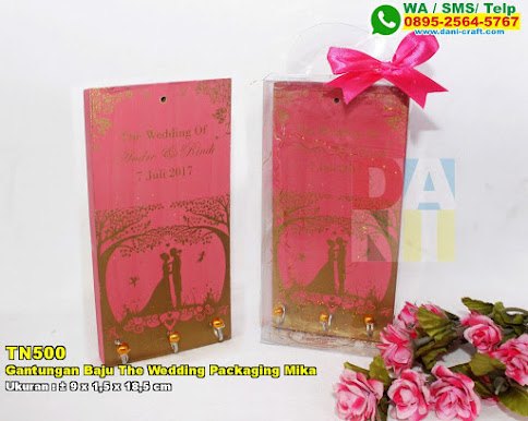 Gantungan Baju The Wedding Packaging Mika