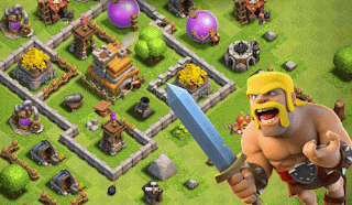 download game android terbaik gratis clash of clans