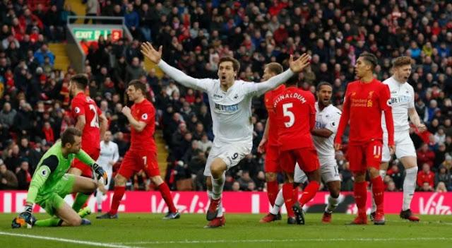 Swansea City vs Liverpool