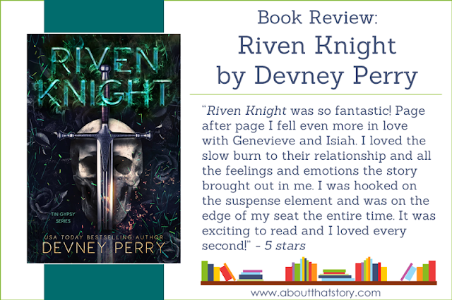 Book Review: Riven Knight by Devney Perry | About That Story