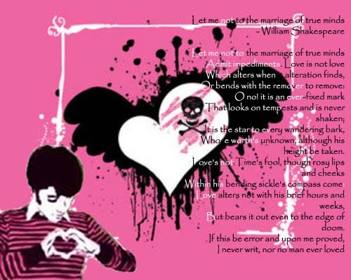 Emo Quotes About Love For Him: Wallpaper World: Emo Love
