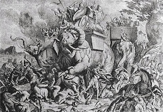 "This was the battle between Alexander The great and King Purushothama on river bank of Jhelum (Hydaspes). As this was fought on river bank of Jhelum it was called as ""Battle of Hydaspes""."