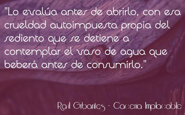Cacería implacable - Raúl Garbantes