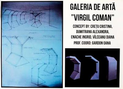 Concept galerie de artă Virgil Coman