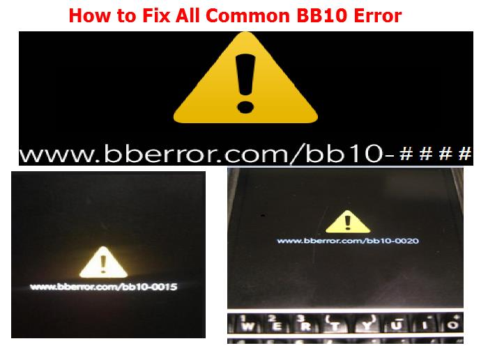 How to Fix All Common BB10 Error | Phonetweakers