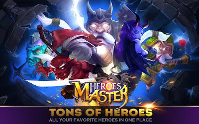 Heroes Master v1.1.3 Mod Apk God Mode