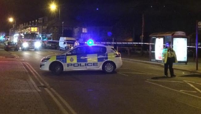 Police are investigating after a controlled explosion was carried out on 'suspect device' at Leeds Road business