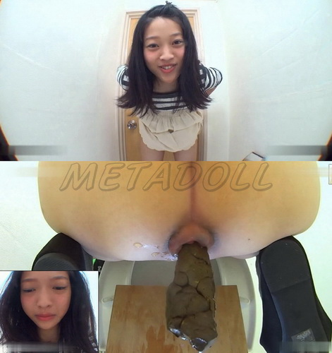 [JG-234] Cute girls filmed herself pooping in the toilet