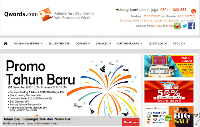 Web Hosting dan Domain Murah