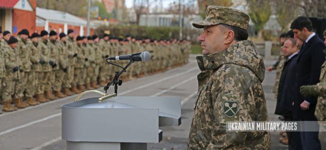 Полторак відвідав 3 полк спецпризначення