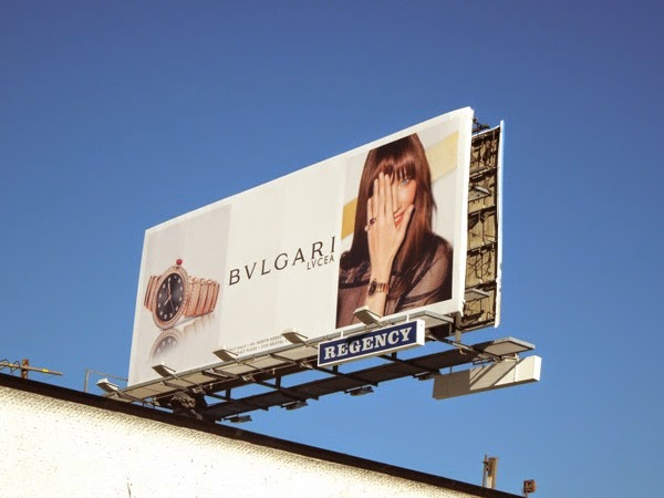 Bulgari Lucea watch billboard