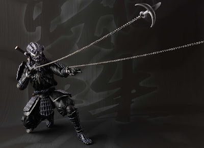 Marvel Onmitsu Black Spider-Man Meisho Manga Realization Action Figure by Bandai Tamashii Nations