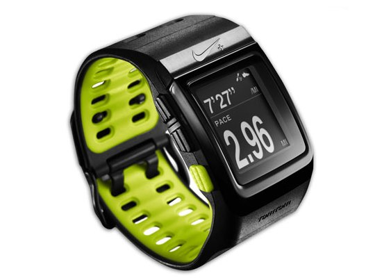 935ff41137b Visão do Nike+ GPS – visor durante a corrida