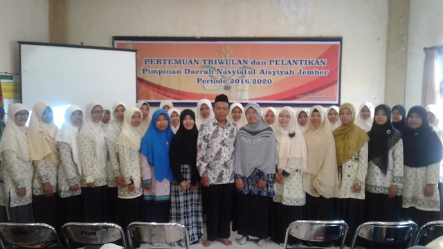 Susunan Pengurus Nasyiatul 'Aisyiyah Jember Periode 2016-2020