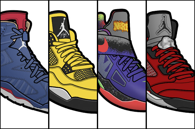 TODAYSHYPE: Wallpaper: 25 Wallpapers every Sneakerhead must have