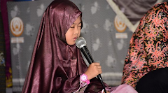 Gadis Cilik 7 Tahun Menjadi Peserta Musabaqoh Hifdzil Quran Di Jakarta