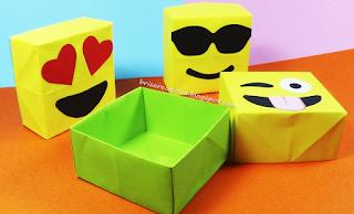 Cajas emojis para regalos