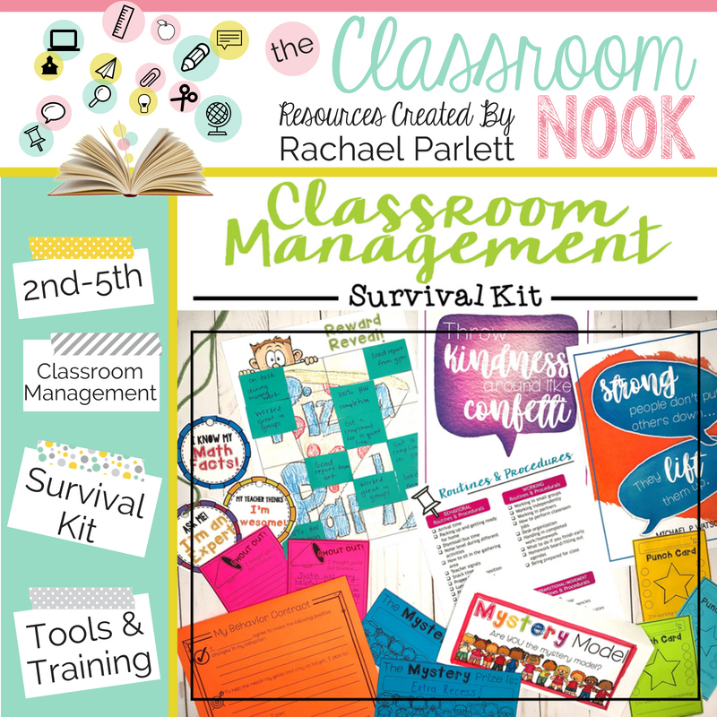 Create an effective classroom management system with this ready-to-go survival kit and teacher toolbox