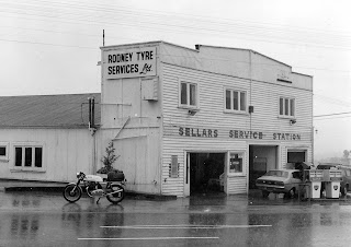 Sellers Service Station - Wellsford, New Zealand 1978