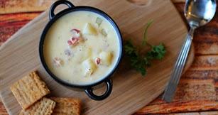 Grandma S Slow Cooker Recipes Cheesy Potato Soup With Bacon
