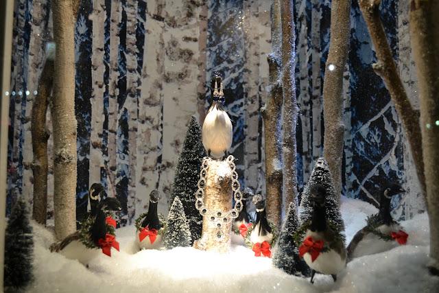 Рождественская витрина Lord & Taylor, Нью-Йорк