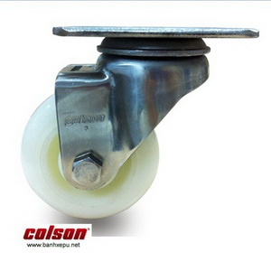 Bánh xe đẩy inox vật liệu bánh xe Nylon | 2-4456-254