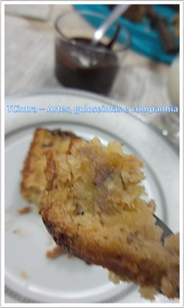 bolo caseiro; receita com banana; café da manhã; lanche; sobremesa