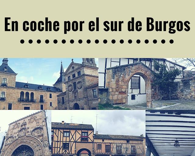 En coche por pueblos de Burgos