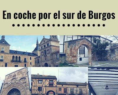 ruta en coche por pueblos de Burgos