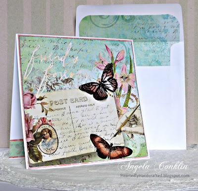 Make a Beautiful 3D Butterfly for Your Handmade Greeting Card