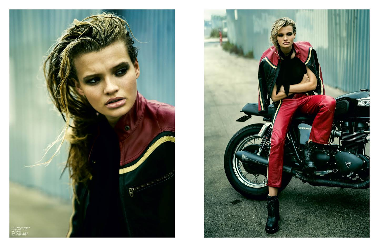 Lone Rider Cayley King By Patric Shaw For The Impression