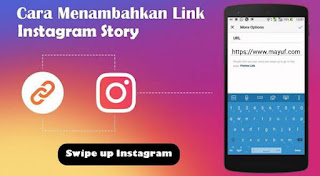 Cara Membuat Swipe Up Link di Instagram Story Android
