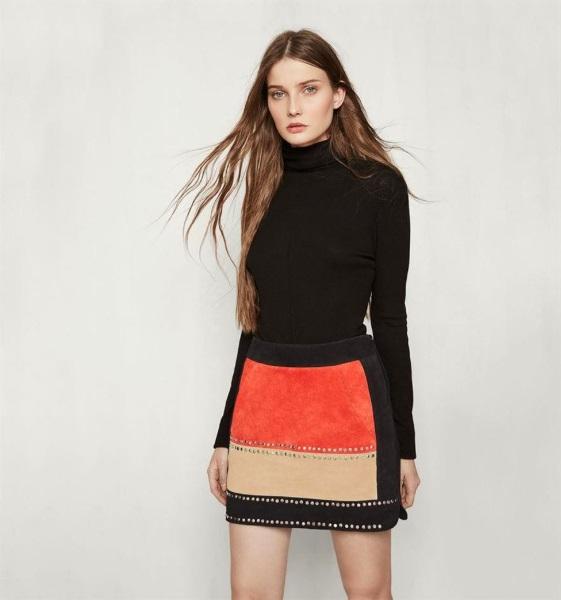 9e512545e3 Y las faldas para otoño de Maje son perfectas para combinar en muchos  looks