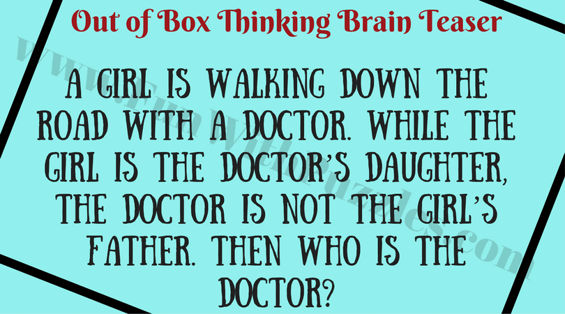 Critical thinking brain teasers with answers | Coursework Sample