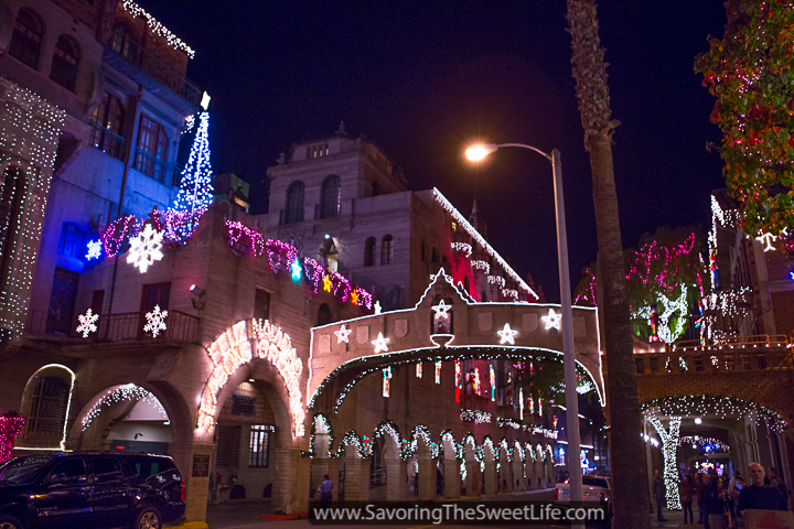 it really is stunning and definitely helps put you in the christmas spirit - Mission Inn Christmas