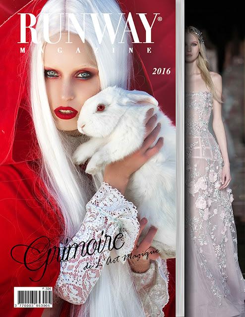 RUNWAY MAGAZINE issue 2016 RUNWAY MAGAZINE cover 2016