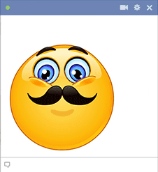 Movember emoticon