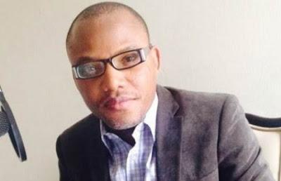 Director of Radio Biafra, Nnamdi Kanu