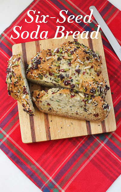 Food Lust People Love: The crunch of seeds and chewiness of cranberries make this six-seed soda bread a joy to slice and munch. Slightly sweetened with honey, it's delicious on its own or spread with butter or cream cheese.