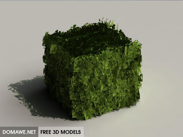 DOMAWE net: Garden Green Walls 3D Model Free Download - 10
