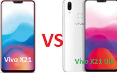 Harga Dan Spesifikasi Vivo X21 Dan Vivo X21 UD, Simak Perbedaannya