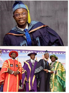 Governor Ambode gifts LASU best graduating student N5m, promises to sponsor his masters programme .