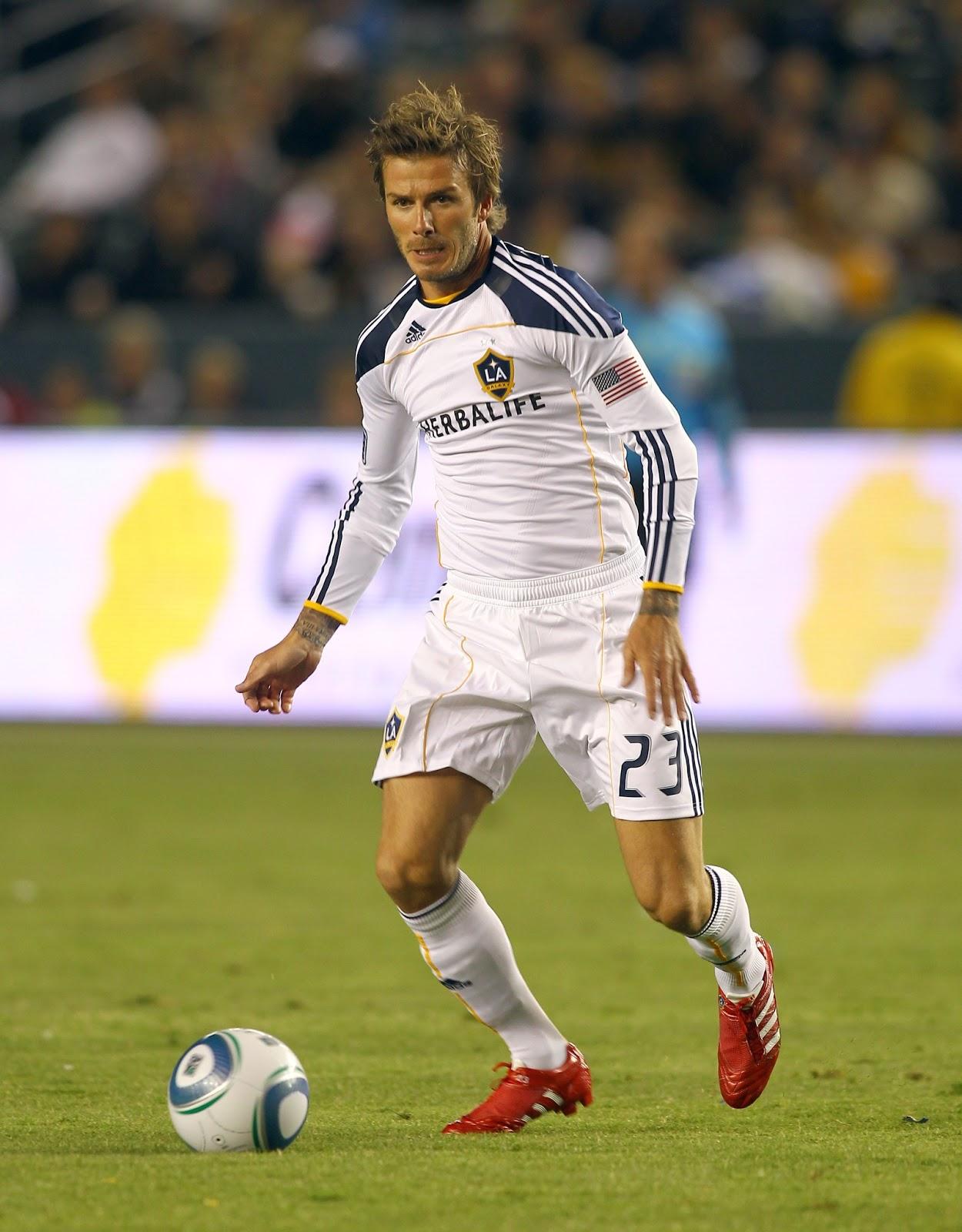 David Beckham Free Kick Wallpaper