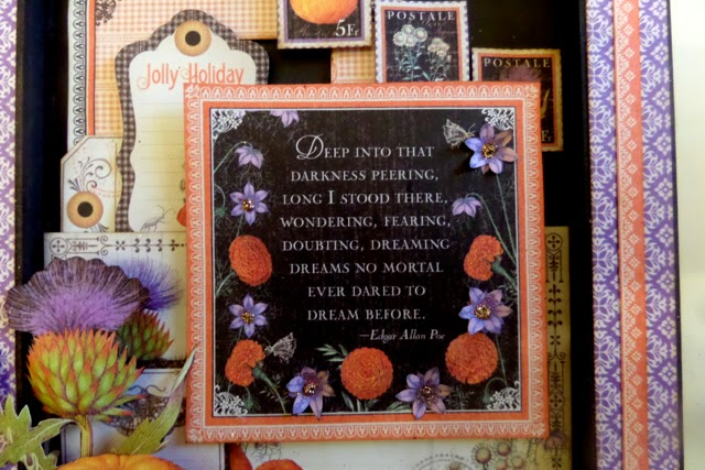 Time to Flourish Altered Frame 1 Clare Charvill Candy Box Crafts Graphic 45
