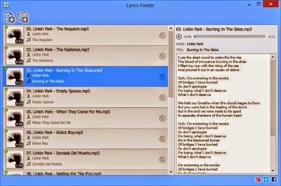 برنامج  لإستخراج الكلمات التي تتكون منها أي أغنية متوفر في نسختين لكل من الوندوز والماك