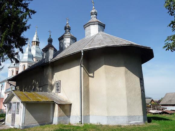 Лужаны. Свято-Вознесенская церковь