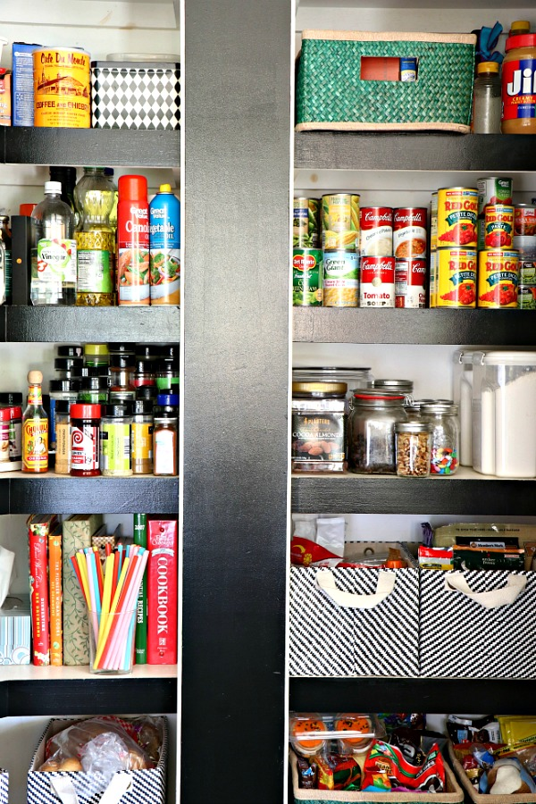 pantry, kitchen, organizing, holiday prep